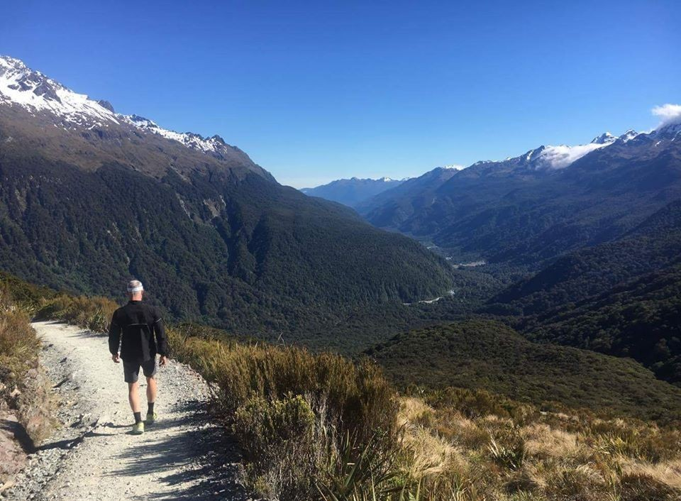 Exploring the trails in New Zealand