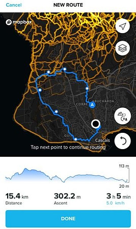 Suunto App Route Builder